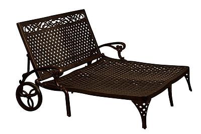 California Outdoor Designs La Jolla Double Chaise Lounge