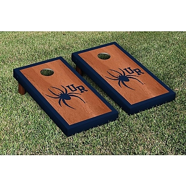 Victory Tailgate NCAA Rosewood Border Version Cornhole Game Set; Richmond Spiders