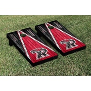 Victory Tailgate NCAA Weathered Triangle Version Cornhole Game Set; Ripon Red Hawks