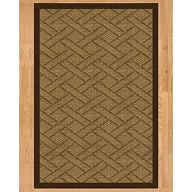 Natural Area Rugs Tempo Hand Crafted Fudge Area Rug; 8' x 10'