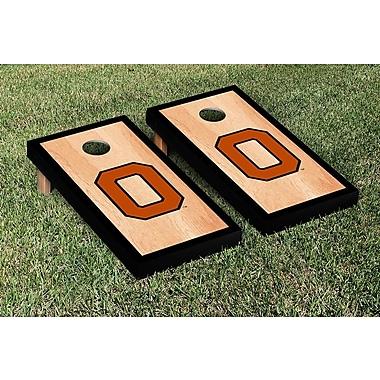 Victory Tailgate NCAA Hardcourt Border Version Cornhole Game Set; College Vault Oregon State Beavers