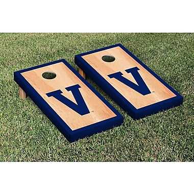 Victory Tailgate NCAA Hardcourt Border Version Cornhole Game Set; College Vault Villanova Wildcats