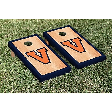 Victory Tailgate NCAA Hardcourt Border Version Cornhole Game Set; College Vault Virginia Cavaliers