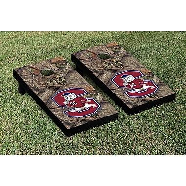 Victory Tailgate NCAA Mossy Oak Version Cornhole Bag Toss Game Set; South Carolina State Bulldogs