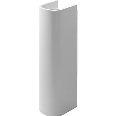 Duravit D-Code Ceramic 30'' Pedestal Bathroom Sink