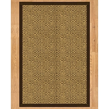 Natural Area Rugs Venus Hand Crafted Fudge Area Rug; 8' x 10'