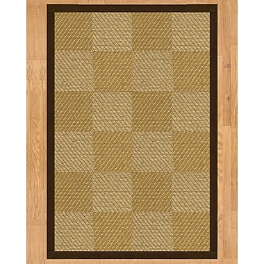 Natural Area Rugs Nirvana Hand Crafted Fudge Area Rug; 6' x 9'