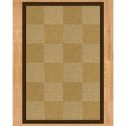 Natural Area Rugs Phantom Hand Crafted Fudge Area Rug; 3' x 5'