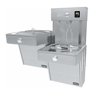 Elkay Filtered Vandal-Resistant EZH2O Bottle Filling Station w/ Bi-Level Vandal-Resistant Cooler