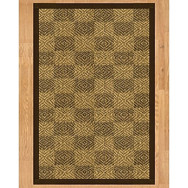 Natural Area Rugs Oslo Hand Crafted Fudge Area Rug; 4' x 6'