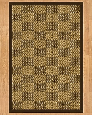 Natural Area Rugs Walden Hand Crafted Fudge Area Rug; Rectangle 6' x 9'