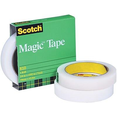 Scotch 810 Magic Tape (Permanent), 1/2