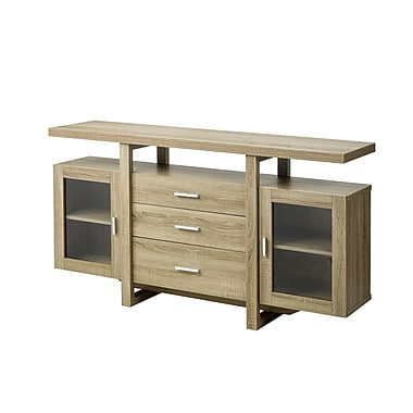 Brassex 14901-TP Buffet / Server, Dark Taupe