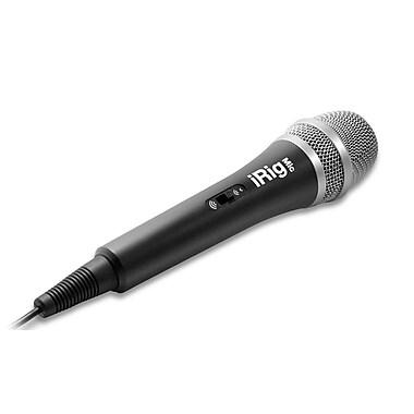 IK Multimedia – Micro à condensateur mobile iRig Mic pour téléphones intelligents et tablettes (IPIRIGMICIN)