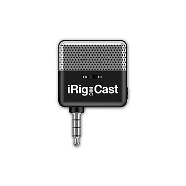 IK Multimedia – Micro pour baladodiffusions iRig Mic Cast pour téléphones intelligents et tablettes (IPIRIGCASTIN)