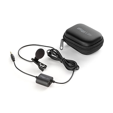 IK Multimedia – Microphone vocal à condensateur iRig Mic Lav (IPIRIGMICLAVIN)
