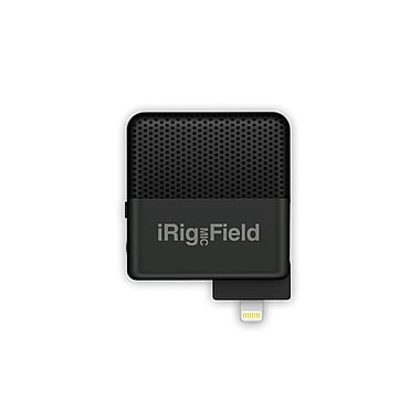 IK Multimedia iRig Mic Field Stereo Condenser Microphone for iPhone & iPad (IPIRIGFIELDIN)