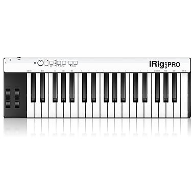 IK Multimedia iRig Keys Pro Full-Sized 37-Key MIDI Controller for iPhone, iPad & Mac/PC, (IPIRIGKEYSPROIN)