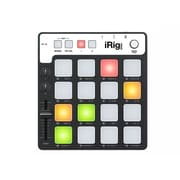 IK Multimedia – Contrôleur de rainures MIDI iRig Pads pour iPhone, iPad et Mac/PC, (IPIRIGPADSIN)