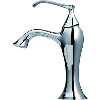 Kraus Ventus Single Hole Single Handle Bathroom Faucet; Chrome