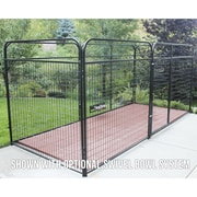 K9 Kennel Basic Welded Wire Steel Yard Kennel; 72'' H x 72'' W x 72'' L
