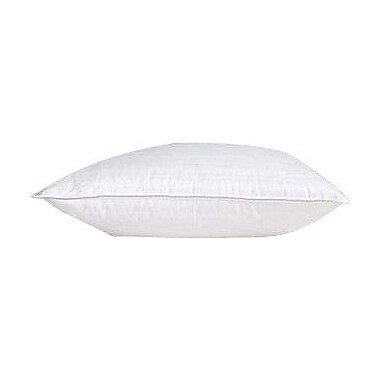 Highland Feather Damask Goose - Level I 100pct Down Pillow; Standard