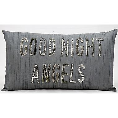 Kathy Ireland Home Gallery Good Night Angels Lumbar Pillow