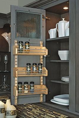 Rev-A-Shelf Adjustable Door Mount Spice Rack; 25''