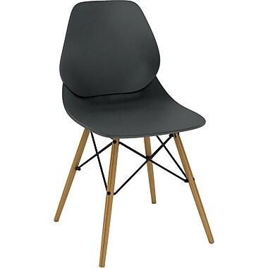 Dar Vaarna Side Chair; Black