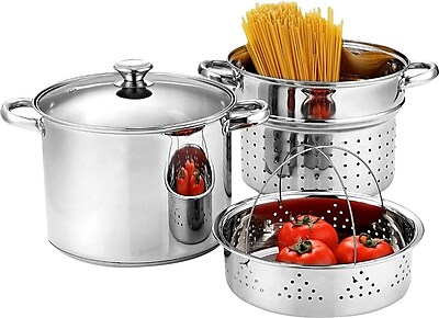 Cook N Home Stainless Steel 4 Piece