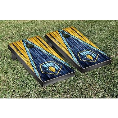 Victory Tailgate NAIA Weathered Triangle Version Cornhole Game Set; Point Skyhawks