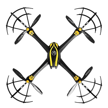 Xtreem® FlyEye™ Video Drone, 720p Camera, Black/Yellow (CEXTTOY-FLYEYE)