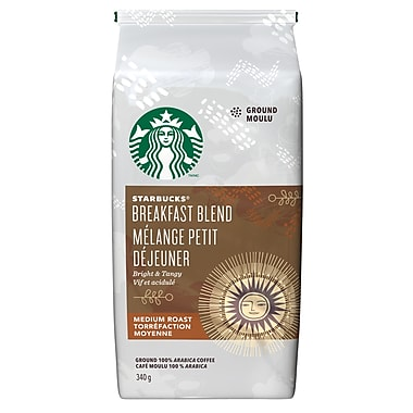 Starbucks® Coffee, Breakfast Blend, 340g