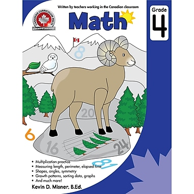 Canadian Curriculum Press - Math, 4e année