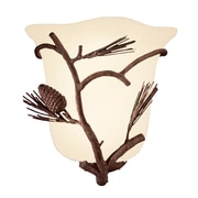 Kalco Ponderosa 1-Light Wall Sconce