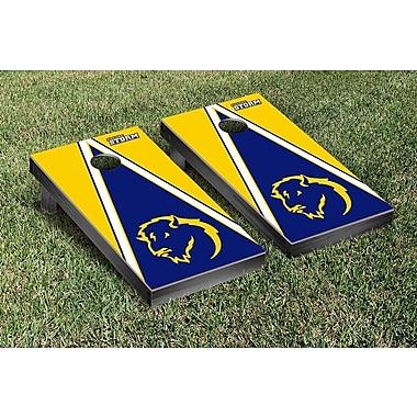 Victory Tailgate NCAA Triangle Version Cornhole Game Set; Southeastern Oklahoma State Savage Storm