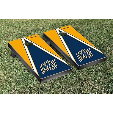 Victory Tailgate NCAA Triangle Version Cornhole Game Set; Merrimack College MC Warriors