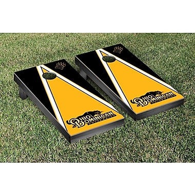 Victory Tailgate NCAA Triangle Version Cornhole Game Set; Ohio Dominican ODU Panthers