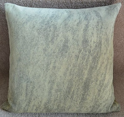 Pergamino Light Brindle Cowhide Throw Pillow