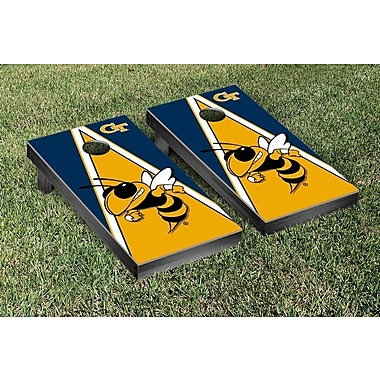 Victory Tailgate NCAA Triangle Version Cornhole Game Set; Georgia Tech GT Yellow Jackets
