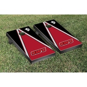 Victory Tailgate NCAA Triangle Version Cornhole Game Set; Ohio Wesleyan OWU Battling Bishops
