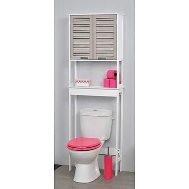 Evideco So Romantic 24.8'' W x 70.5'' H Over the Toilet Storage