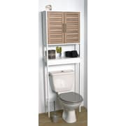 Evideco Stockholm 24.8'' W x 70.5'' H Over the Toilet Storage
