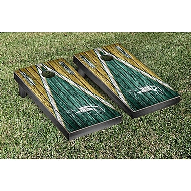 Victory Tailgate Triangle Weathered Version Cornhole; Wagner Seahawks