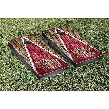 Victory Tailgate Triangle Weathered Version Cornhole; Denver Pioneers