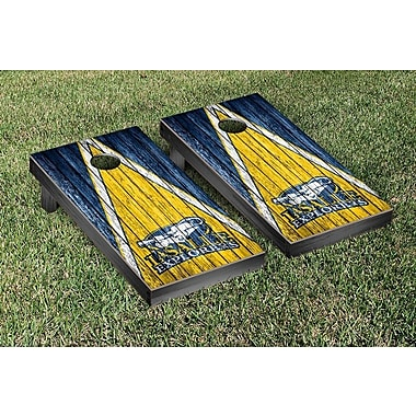Victory Tailgate Triangle Weathered Version Cornhole; La Salle Explorers