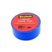 Scotch Colored Plastic Tape Blue 3/4 In. [Pack Of 18] (18PK-190BLU)