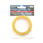 Artemboss Metal Foil Tape Brass [Pack Of 3] (3PK-50151B)