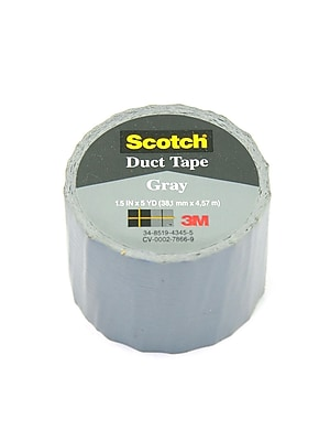 3M Duct Tape Gray [Pack Of 12] (12PK-1005-GRY-IP)