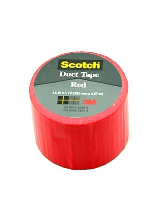 3M Duct Tape Red [Pack Of 12] (12PK-1005-RED-IP)